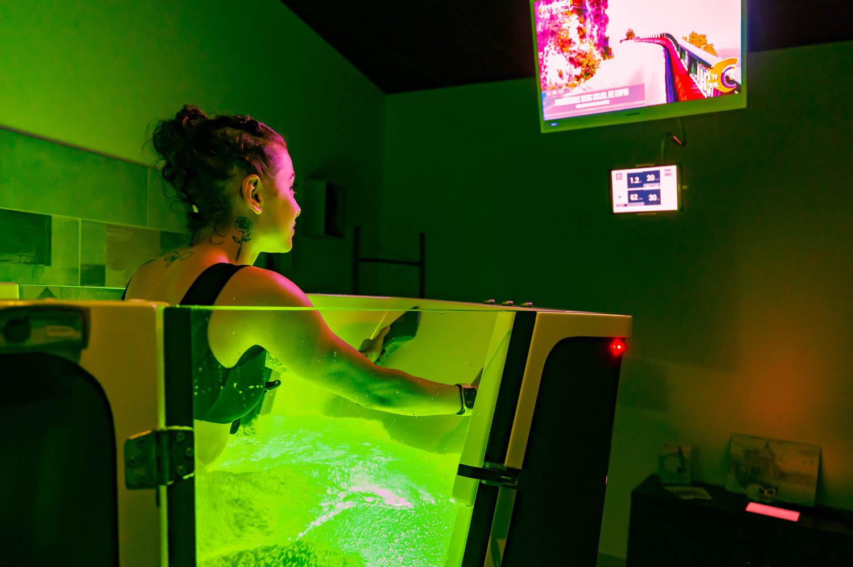 Greenhouse Aquabike